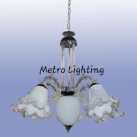 Lampu Gantung Minimalis IL 908/5+1 CHBK