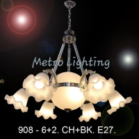 Lampu Gantung Minimalis IL 908/6+2 CHBK