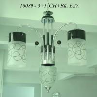 Lampu Gantung Minimalis IL 16080/3+1 CHBK