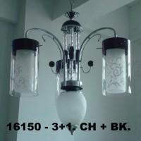 Lampu Gantung Minimalis IL 16150/3+1 CHBK