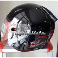 HELM/KYT/MOTOR/MURAH/SNI/DOT KYT Helm DJ Maru Solid