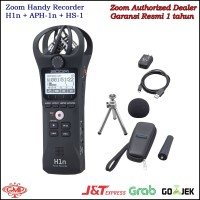 ZOOM H1N Handy Recorder With Accessories APH-1N and HS-1