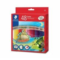 STAEDTLER LUNA Coloured Pencil 48 pcs - Pensil Warna Biasa Staedler