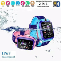 JAM TANGAN SMART WATCH IMO Q12 WATER PROOF CHARGER MAGNET 1 : 1