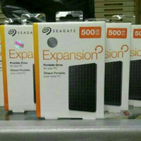 "Seagate Expansion Portable 500 GB USB3.0 / Harddisk External 2.5"""