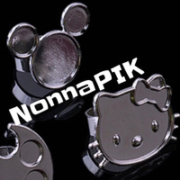 NonnaPIK Mixing Pallete Ring Pencampur Makeup Cat Kuku Nail Art K118