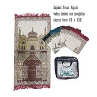 Sajadah Tenun Riyadh Murah Souvenir Haji Umroh / travel
