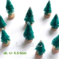 Pohon Natal Mini Maket Miniatur (M)