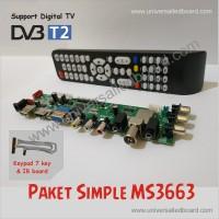 Universal lcd / led board Paket Simple DVB-T2 / Universal board dvb-t2