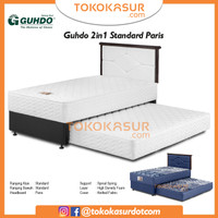 2in1 Guhdo Standard 90x200 Komplit Set Sandaran Paris