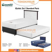 2in1 Guhdo Standard 100x200 Komplit Set Sandaran Paris