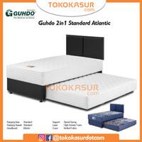 2in1 Guhdo Standard 140x200 Komplit Set Sandaran Atlantic