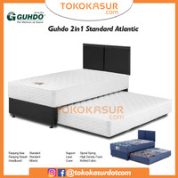 2in1 Guhdo Standard 120x200 Komplit Set Sandaran Atlantic