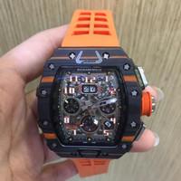 Jam tangan pria Richard Mille RM 035-02 Carbon Swiss ETA 1:1
