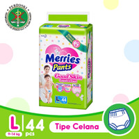 MERRIES Good Skin Pants L - 44 / Merries Popok Celana L44 (9-14kg)
