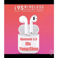 Handsfree Airpod i9s TWS Bluetooth Wireless Headset Earphone Headphone