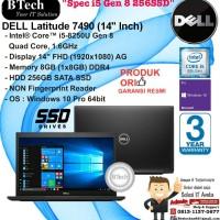 DELL Latitude 7490 Intel Core i5-8250U/8GB/256GB SSD/Non FP/WIN10PRO
