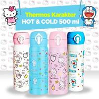 Termos KANCING Karakter 500mL - Thermos Botol Air Minum Anak
