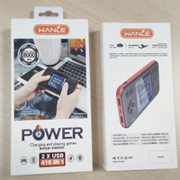 Wanle Gameboy 416 in 1 Portable + Powerbank 8000mah 2 USB