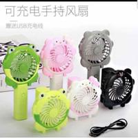 Kipas Genggam Lipat 2in1 KARAKTER - USB Cute Mini Fan Surabaya