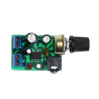 LM386 Mini Audio Power Amplifier Board Module Adjustable Volume