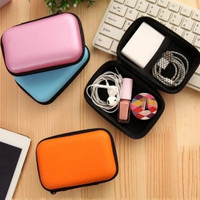 Dompet Penyimpanan Headset / Organizer Headset Charger Pouch K183