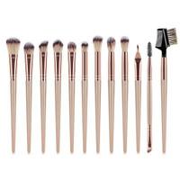 JBS Makeup Brushes Set 12pcs Metalik Powder Eyeshadow Brush K202