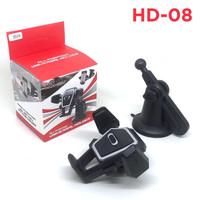 Phone Holder Mobil HD08 Untuk HP / Car Holder Tatakan GPS Car Hp