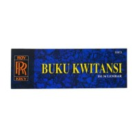 KIKY KWITANSI MINI 36 36 SHEETS/BOOK 1 BOOK