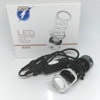 Lampu Utama Led RTD H4 / HS1 Projector Projie Light Cut Off HI - LO