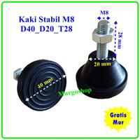 kaki stabil Diameter D40D20 drat M8