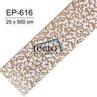 TECTO Plafon PVC EP-616 ( 25 cm x 500 cm )