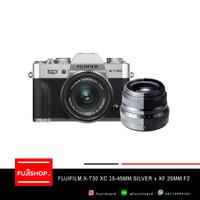 Fujifilm X-T30 Kit 15-45mm + XF 35mm F2 WR