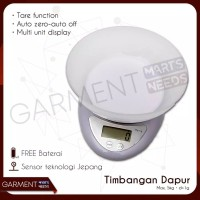 Timbangan Dapur Digital Mangkok 5 kg Kitchen Scale
