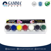 Accent FABRIC Paint Set - Cat Untuk Kain - Acrylic Water-based