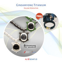 Ginsamyong Titanium Series Free Gelang Spectrum