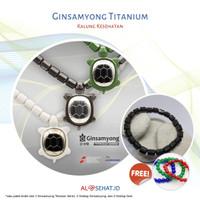 Ginsamyong Titanium Series Free 2 Gelang Ginsamyong dan 2 Gelang Giok