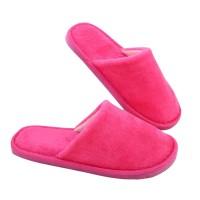 PROMO Litthing Solid Winter Warm Home Slippers Men Women Bedroom