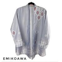 Outer RemiaGrey - Emikoawa / Cardigan / Souvenir / Berkualitas