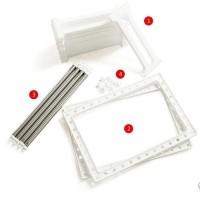 JE Rak Plastik Portable Dapur Serbaguna R57 2 Tingkat + Rangka