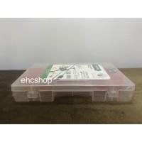 Kotak Perkakas 6 - 18 Sekat Semi Permanen (REMOVABLE)