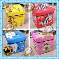 EFS105 n 335 Animal Storage box / Tempat Mainan / Majalah /kursi