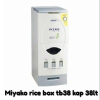Miyako rice box tb38 kap.38ltr tb 38 tempat beras