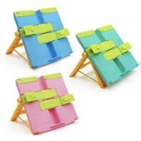 Portable Book Stand Sandaran Buku Gadget