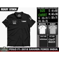 POLO Shirt F1 - SAHARA FORCE INDIA 2018