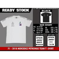 TSHIRT F1 - MERCEDEZ PETRONAS TEAM 2018