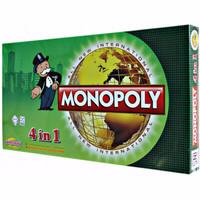 Mainan Anak Monopoli 4 in 1