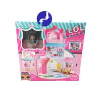 Mainan Anak Rumah Sylvanian Seri LOL Surprise SET Play House QL050-1