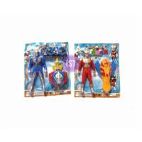 Mainan Anak Robot Ultraman dan Jam tangan Ultraman No.699-35A