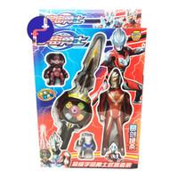 Mainan Anak Robot Ultraman Hunter Beast 2 pcs ultraman + Senjata 772-1
